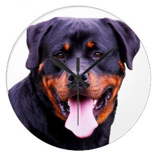 """Rottweiler""design wall clocks"