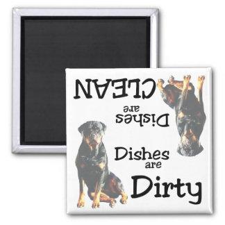 Rottweiler Dishwasher Magnet