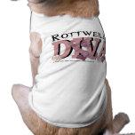 Rottweiler DIVA Dog T Shirt