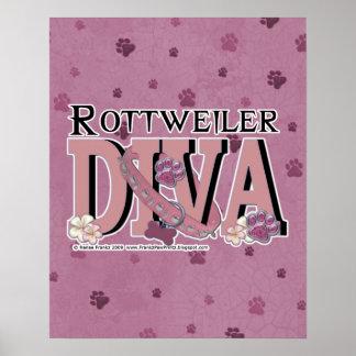 Rottweiler DIVA Poster