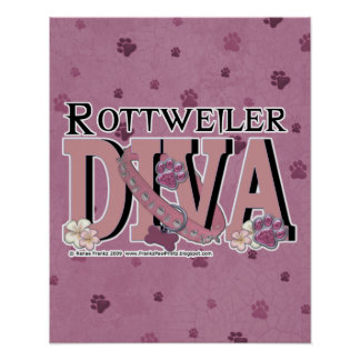 Rottweiler DIVA Posters