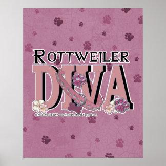 Rottweiler DIVA Print