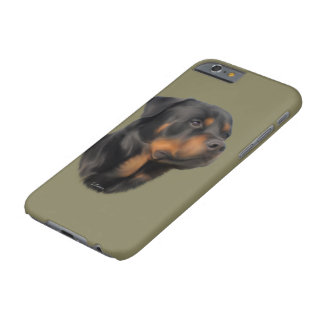 Rottweiler Dog Barely There iPhone 6 Case