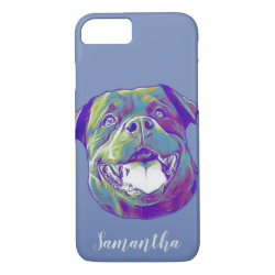 Rottweiler dog iphone 8/7 case
