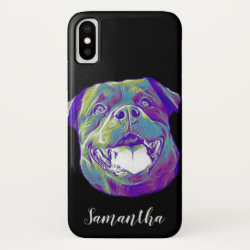 Rottweiler dog iphone Xs case
