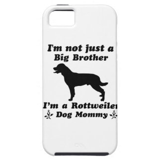 rottweiler dog mommy iPhone 5/5S cases