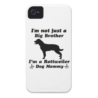 rottweiler dog mommy iPhone 4 covers