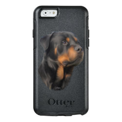 OtterBox Symmetry iPhone 6/6s Case with Rottweiler Phone Cases design
