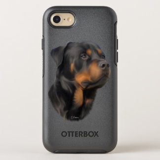 Rottweiler Dog OtterBox Symmetry iPhone 8/7 Case