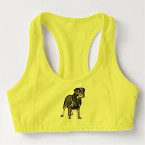 Rottweiler dog sports bra