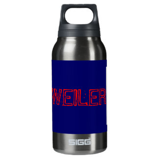 rottweiler dog! woof wooof ! insulated water bottle