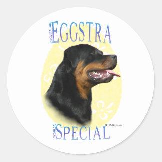 Rottweiler Eggstra Special - Sticker
