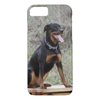 Rottweiler Enjoying Life Phone Case