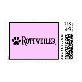 Rottweiler (estilo del pirata con el pawprint) envio