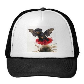 Rottweiler Fairy Dog Ballpark Cap Trucker Hat