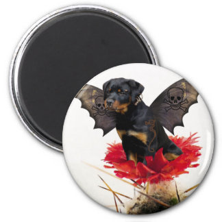 Rottweiler Fairy Dog Magnet