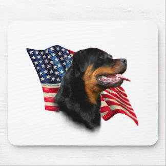 Rottweiler Flag Mouse Pad