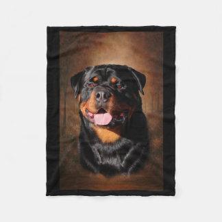 Rottweiler Fleece Blanket