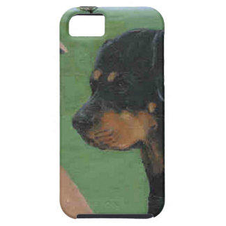 Rottweiler iPhone 5 Carcasas