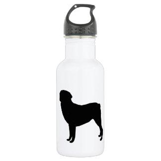 Rottweiler Gear Stainless Steel Water Bottle