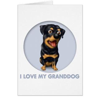 Rottweiler Granddog Card
