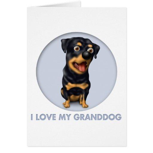 Rottweiler Granddog Cards