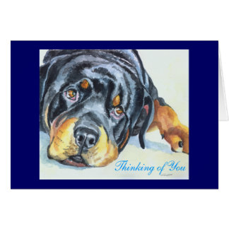 Rottweiler Greeting Cards / Notecards