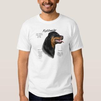 Rottweiler History Design T-shirt