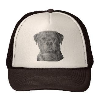 Rottweiler - imagen estilizada - añada su propio t gorros