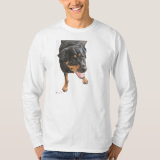 Rottweiler in Pastel T-Shirt