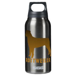 Rottweiler Insulated Water Bottle