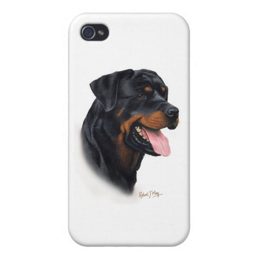 Rottweiler iPhone 4 Cover