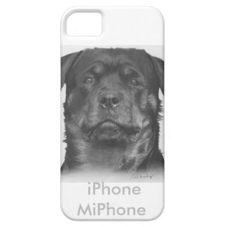 Rottweiler iphone case cover, Original Drawing iPhone 5 Cover