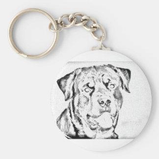 Rottweiler Key Chains