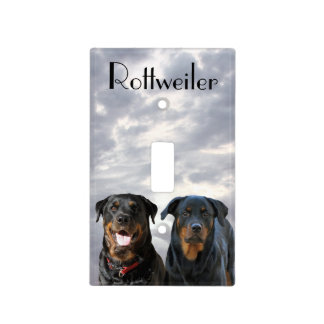 Rottweiler Light Switch Cover