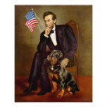 Rottweiler  - Lincoln Print