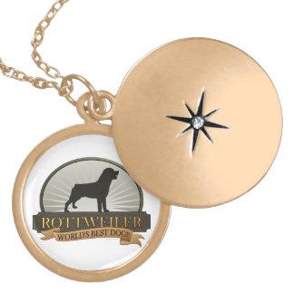 Rottweiler Locket Necklace