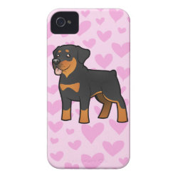 Rottweiler Love Case-Mate iPhone 4 Case
