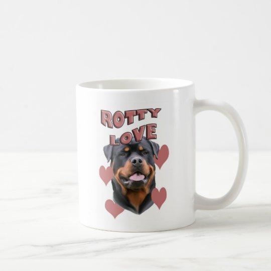 Rottweiler_love Coffee Mug