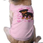 Rottweiler Love Doggie Tshirt