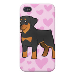Rottweiler Love Cover For iPhone 4