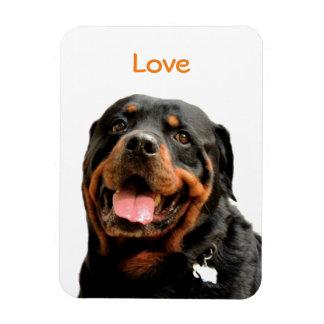 Rottweiler Love Photo Magnet