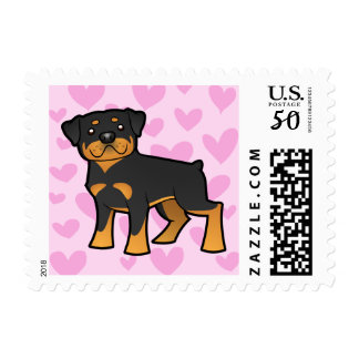 Rottweiler Love Postage