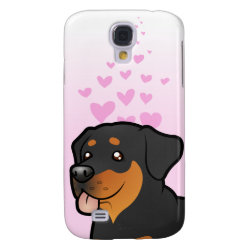Rottweiler Love Samsung Galaxy S4 Cover