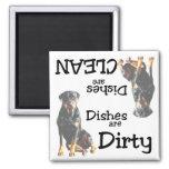 Rottweiler Lovers Dishwasher Magnet