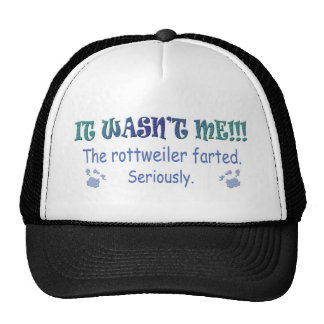 Rottweiler Mesh Hats