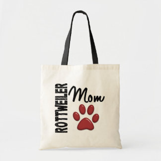 Rottweiler Mom 2 Tote Bags