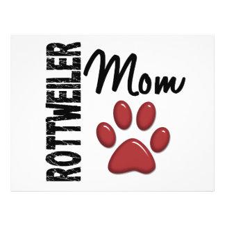 Rottweiler Mom 2 Full Color Flyer