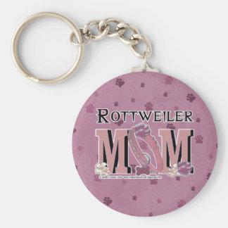 Rottweiler MOM Key Chains