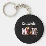 rottweiler mom Keychain